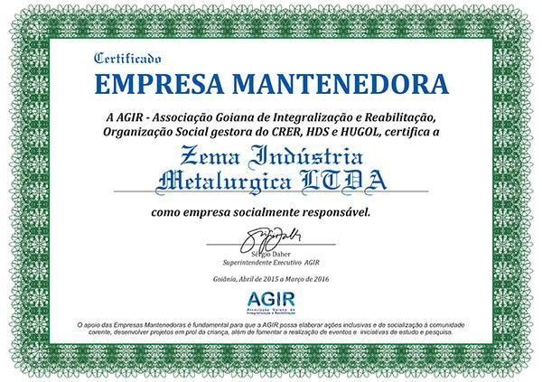 NOVO Certificado Mantenedora.cdr